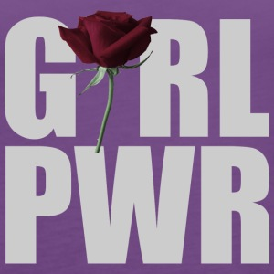 Girl Power Gray - Premiumtanktopp dam