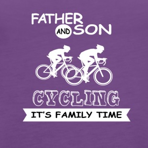 Father And Son - Cycling - Women's Premium Tank Top