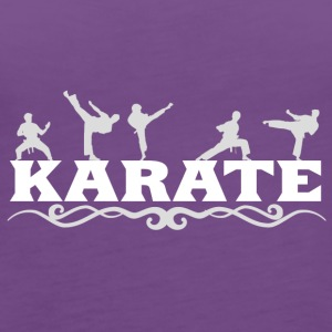 karate - Women's Premium Tank Top