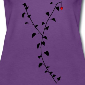 The Lonely Heart - Women's Premium Tank Top