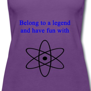 Be_a_legend - Premium singlet for kvinner