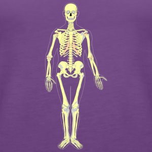 Skeleton also in the future - Women's Premium Tank Top