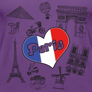 I love paris 2 - Frauen Premium Tank Top