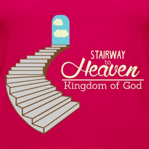 Stairway to Heaven - God Kingdom - Premiumtanktopp dam