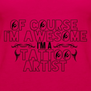 Awesome Tattoo Artist - Women's Premium Tank Top