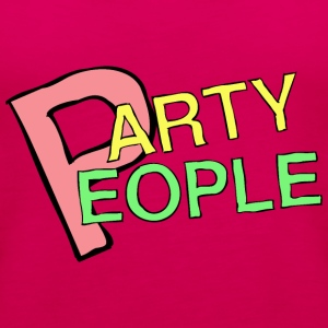 Party People - Canotta premium da donna