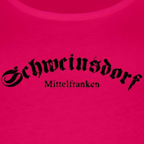 Schweinsdorf - Logo #1 - Mittelfranken - Frauen Premium Tank Top