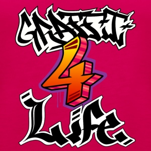 Graffiti 4 Life - Premium singlet for kvinner