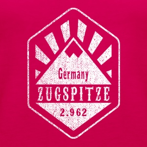 Zugspitze coat of arms - white - Women's Premium Tank Top