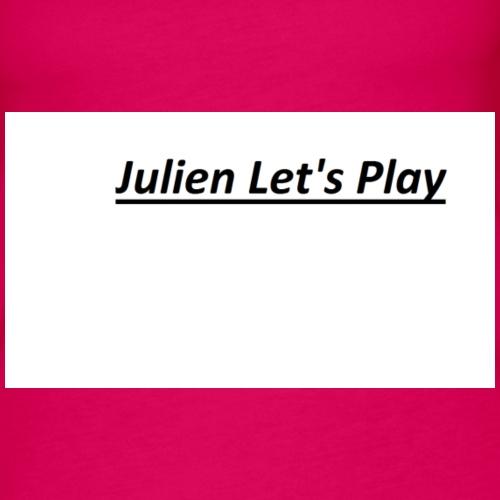 Julien Let's Play LOGO - Frauen Premium Tank Top