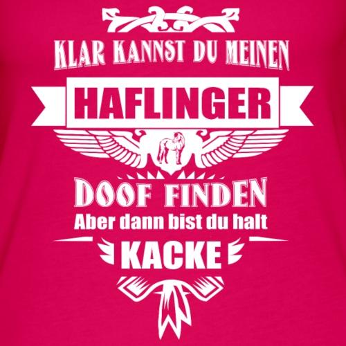 Haflinger - Frauen Premium Tank Top