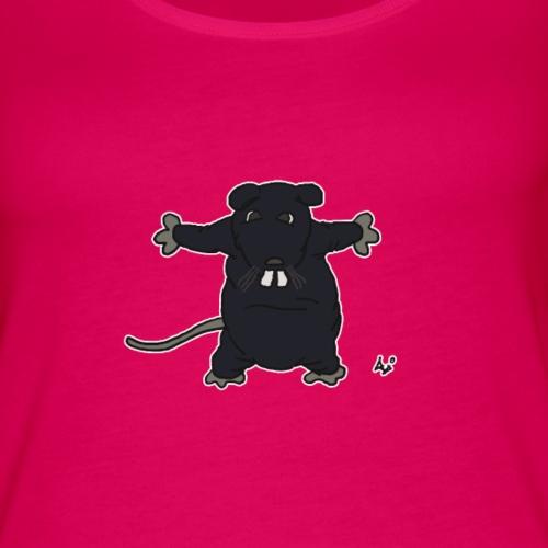 Henkie the Plush Rat - Premium singlet for kvinner