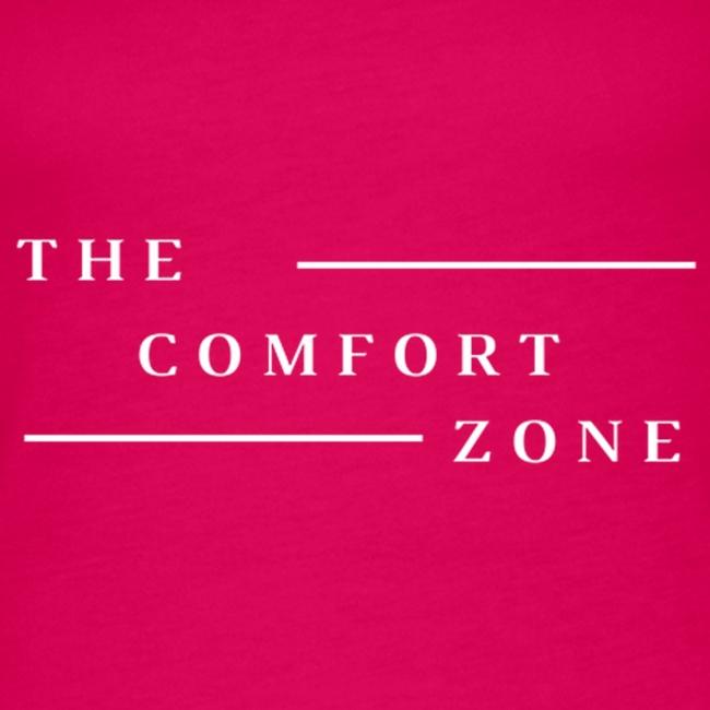 Logo wit The Comfort Zone