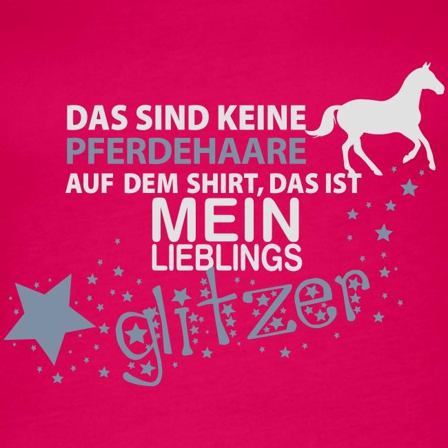 Vorschau: Glitzer Pferd - Frauen Premium Tank Top