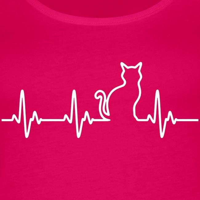 Vorschau: Ein Herz für Katzen - Frauen Premium Tank Top