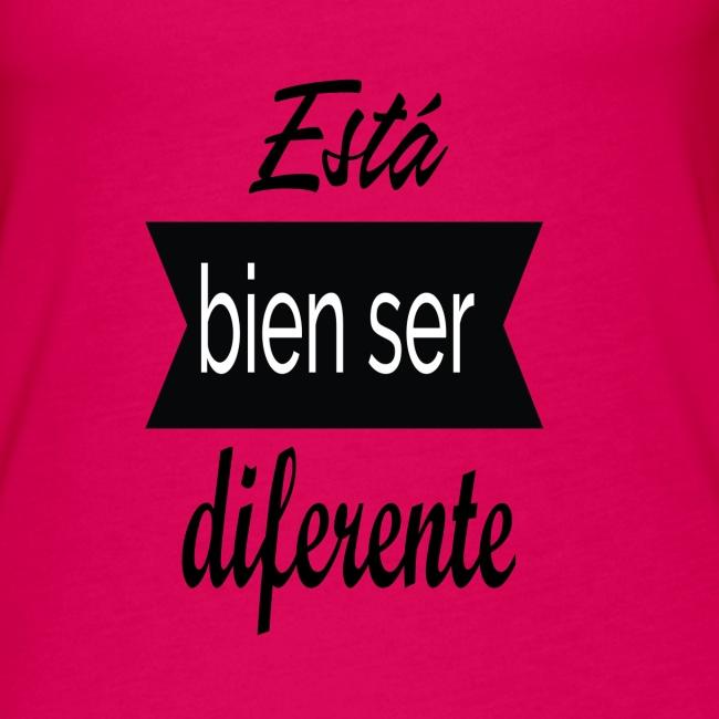 Ser diferente