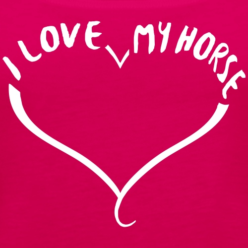 I love my horse - Frauen Premium Tank Top