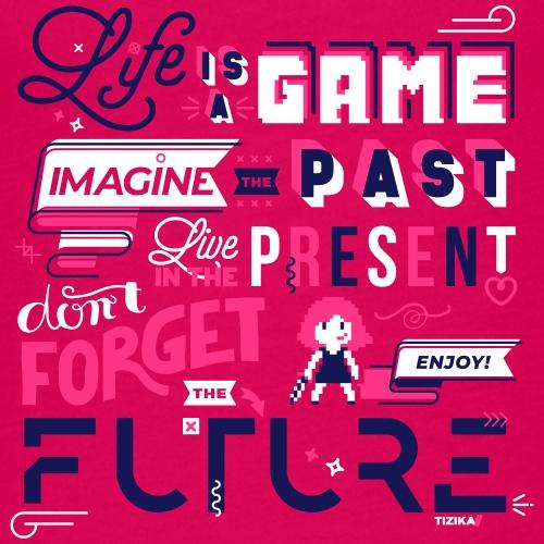 Life is a Game - Débardeur Premium Femme