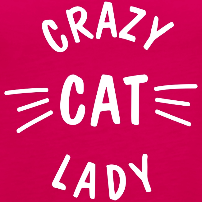Vorschau: Crazy Cat Lady meow - Frauen Premium Tank Top