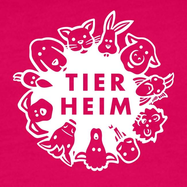 Tierheim Logo weiss