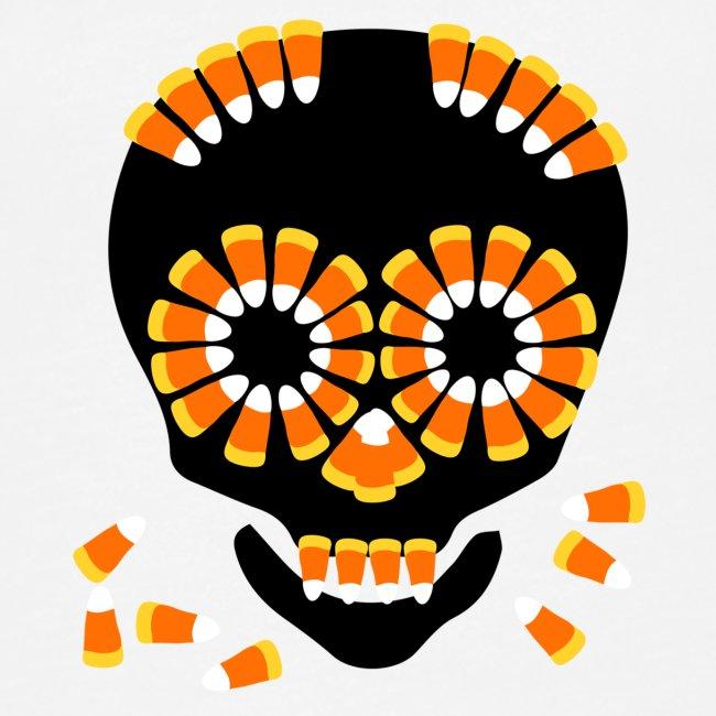 Skull Candy Corn HallOWeen by patjila