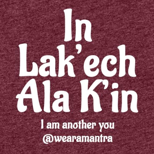In Lak'ech ala K'in 2 white - Canotta premium da donna