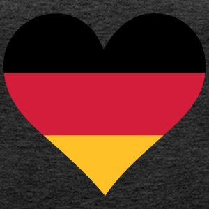 A Heart For Germany - Women's Premium Tank Top