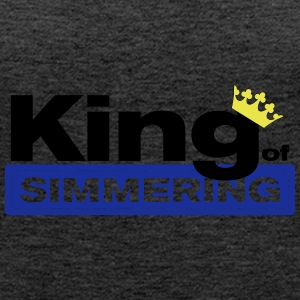 King of Simmering - Women's Premium Tank Top