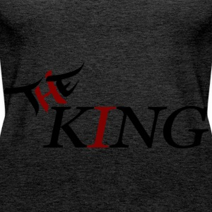 The King - Women's Premium Tank Top