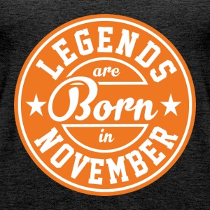 Legends born born birthday gift Gebu - Women's Premium Tank Top