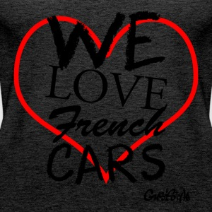 #welovefrenchcars by GusiStyle - Women's Premium Tank Top