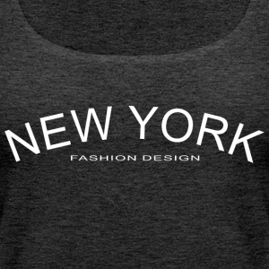 NEW YORK FASHION DESIGN - Vrouwen Premium tank top