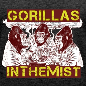 GORILLAS IN THE MIST - Women's Premium Tank Top
