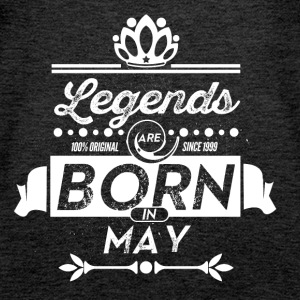 Legends are born in May birthday present - Women's Premium Tank Top