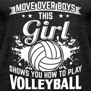 volleyball MOVE OVER - Frauen Premium Tank Top