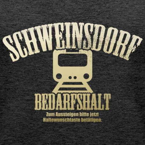 Schweinsdorf - Logo #2 - Bedarfshalt - Frauen Premium Tank Top