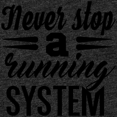 Never Stop Running - Frauen Premium Tank Top