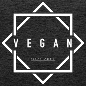 VEGAN since 2015 - Women's Premium Tank Top