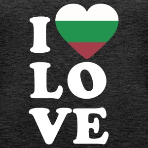 I love Bulgaria - Frauen Premium Tank Top