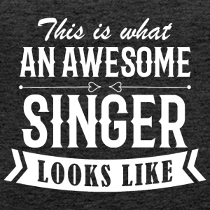 Awesome Singer - Women's Premium Tank Top