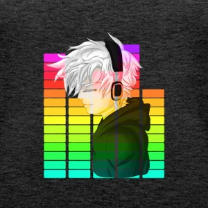 Electronic Music - Anime - Premium singlet for kvinner
