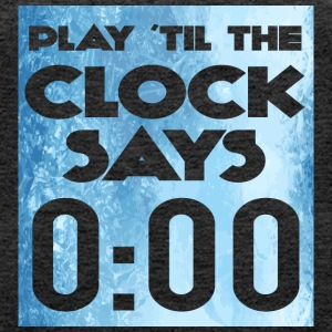 Hockey: Play'til the clock says 00:00 - Women's Premium Tank Top