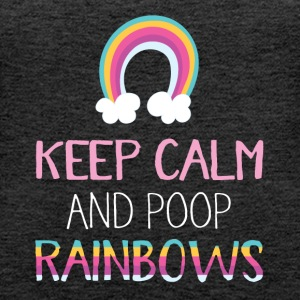 Poop Rainbows - Women's Premium Tank Top