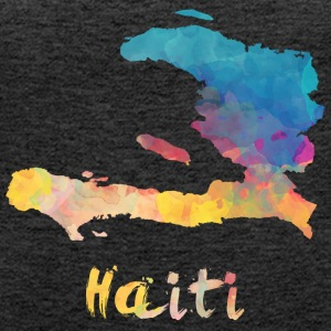 Haitian Watercolor Country - Frauen Premium Tank Top