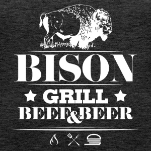 Grill · Barbecue · Bison - Vrouwen Premium tank top