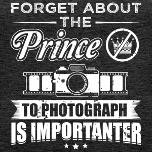 photograph FORGET PRINCE - Frauen Premium Tank Top