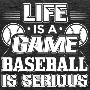 Baseball LIFE IS A GAME - Women's Premium Tank Top