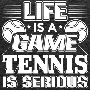 TENNIS LIFE IS A GAME - Premium singlet for kvinner