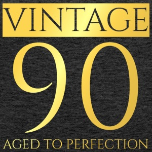 90th Birthday: Vintage 90 - Aged To Perfection - Women's Premium Tank Top
