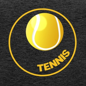 Tennis - Tennis Circle - Tennis Ball - Vrouwen Premium tank top